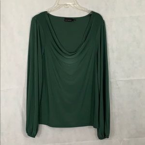 The Limited size large Christmas green top